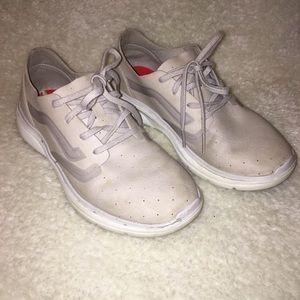 Vans cream sneakers